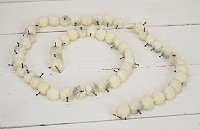 IFF540 - Crystal Pumpkin String-12/120pcs