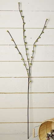 ISB3224-GR - Tall Willow Branch-Green 12/144pcs