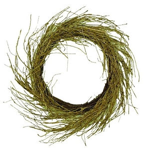 ISB95030 - 24in Willow Wreath-2/8pcs