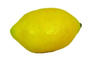 ISBX709-YE - 2.25in Weighted Lemon 6/72pcs