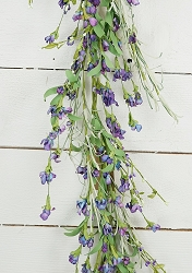 ISB69581 - 5ft Country Lavender Blossom Garland-6/36pcs