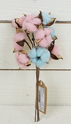 ISB69615 - 13in Mix Cotton Candy Bush-12/144pcs