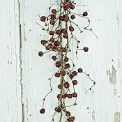 ISB1050-Brwn-6ft Twiggy Pods Garland-Brown-2/24pcs