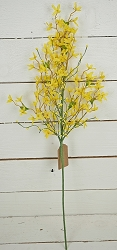 ISB68932 - 30in Forsythia Blossom Branch-12/72pcs