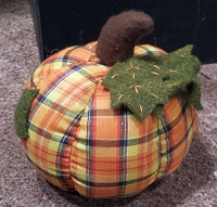 M2663 - 5inDia stuffed OR pumpkin-1/48pcs