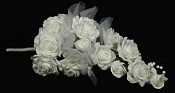 ISB18570 - White Rose Bush-6/24pcs
